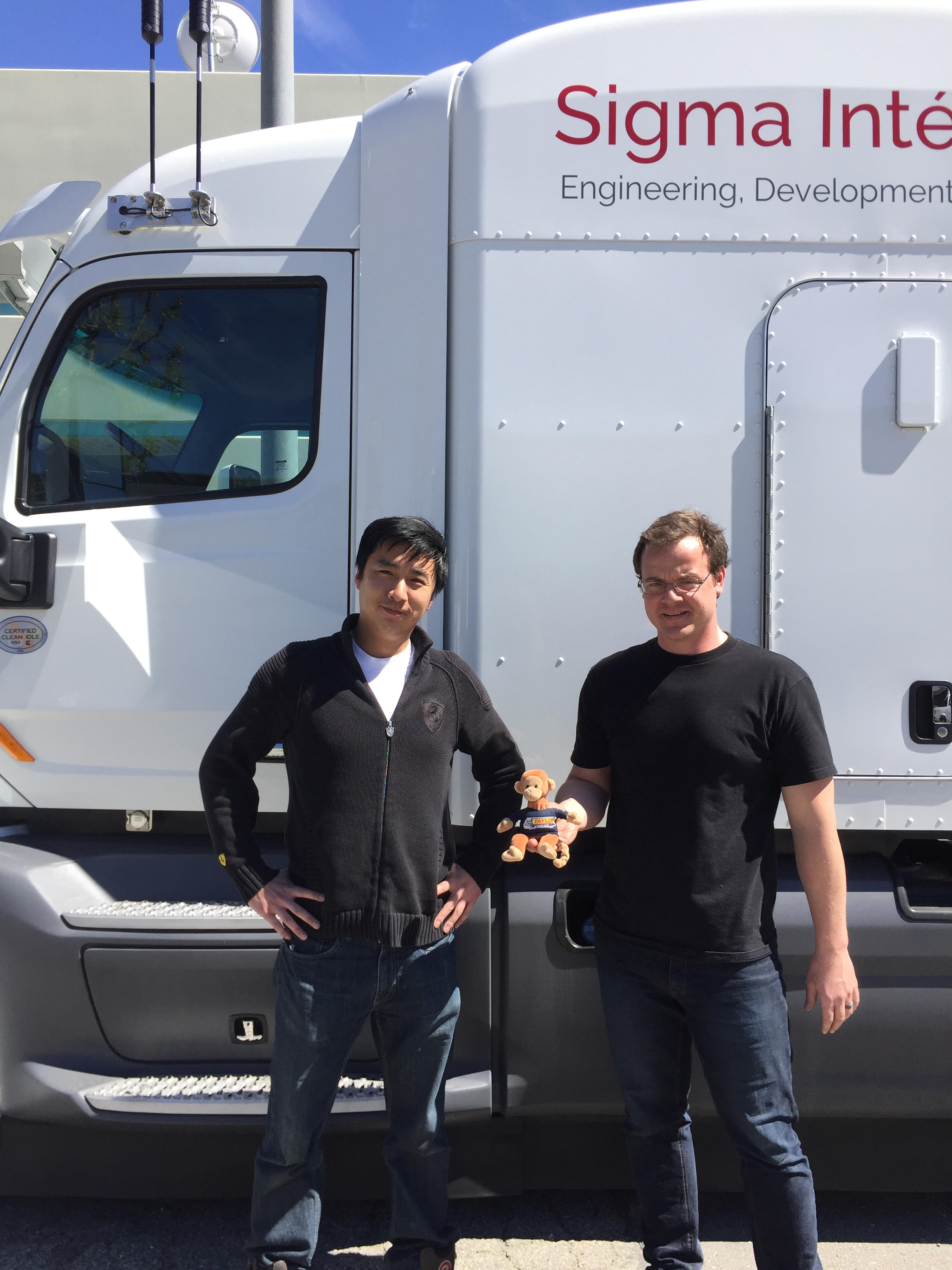 Driverless trucks?